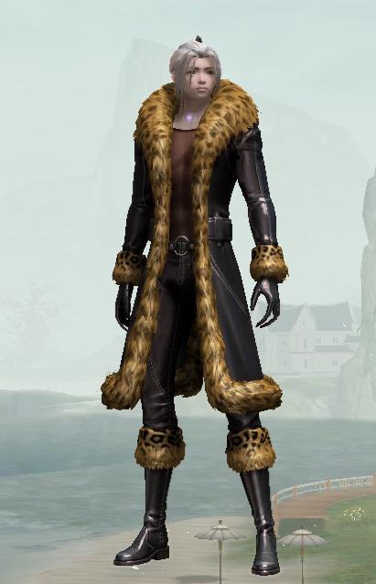 Winter Leopard Duds
