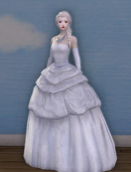 Elegant Wedding Garb