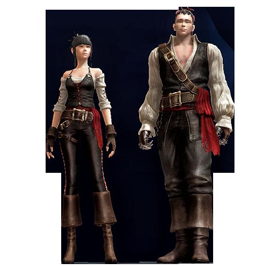 Pirate Crew Attire