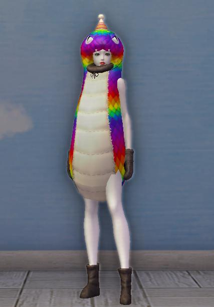 Rainbow Snake Costume