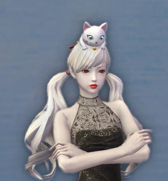 Daeva's Coy Companion