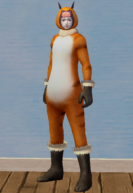 Porgus Costume Set