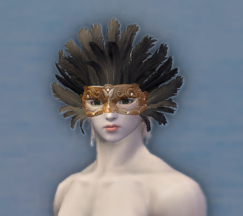 Lovely Feather Mask