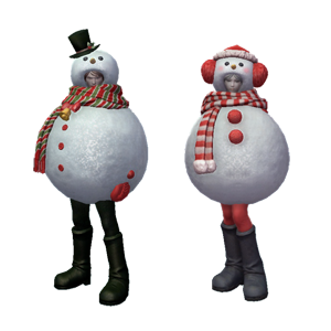 Snowman Skin