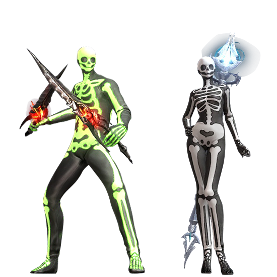 Skeleton Suit Costume