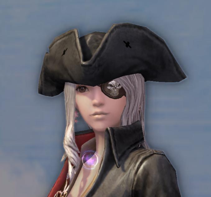 Pirate Captain's Topper