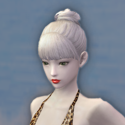 [Hair Change Ticket] Trendy Bun Style
