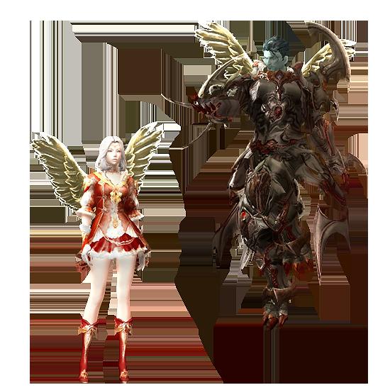 Ghostly Angel Wings