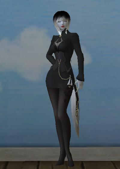 NPC Asmodian S-grade House Butler Costume