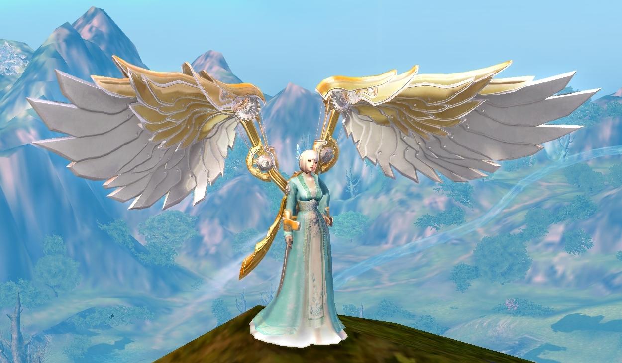 Precious Steampunk Wings