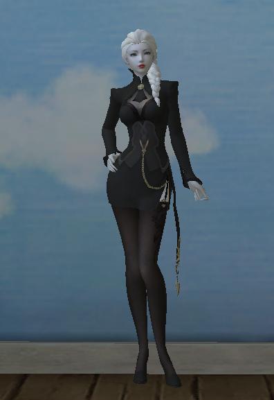 NPC Elyos S-grade House Butler Costume