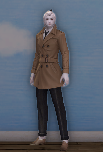 Simple Country Coat