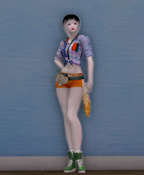 Foxtail Hot Pants Outfit