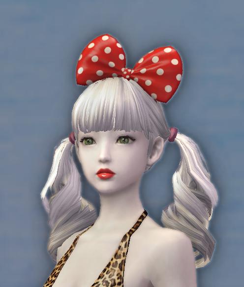 Dotty Hair Bow