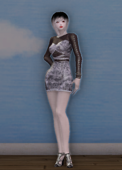 Vivacious Denim Dress