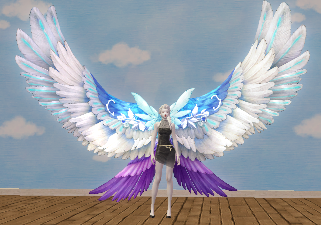Noble Oriel's Wing Skin