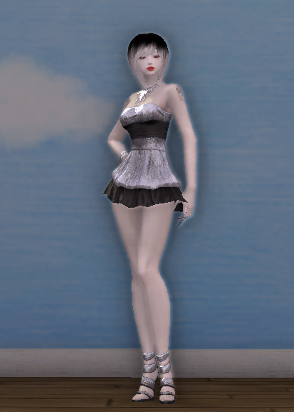 Shimmery Party Duds