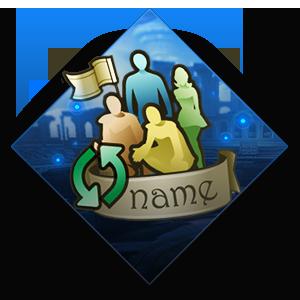 Legion Name Change Ticket