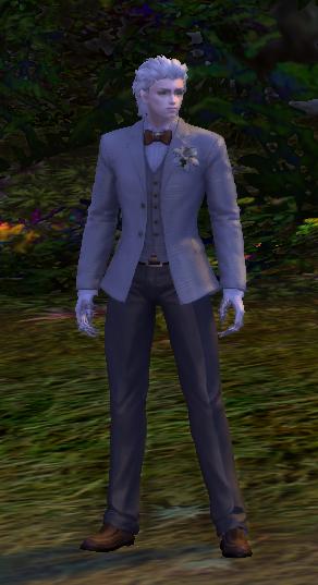 Perky Wedding Dress/Tuxedo