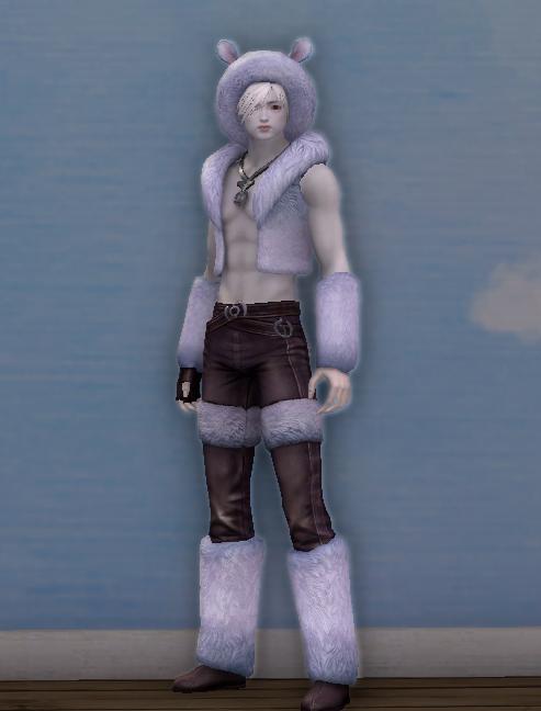 Silver Daru Fur Cap